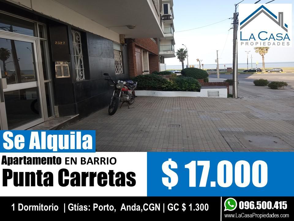 Foto Apartamento en Alquiler en  Punta Carretas ,  Montevideo  Garcia Cortinas al 2500