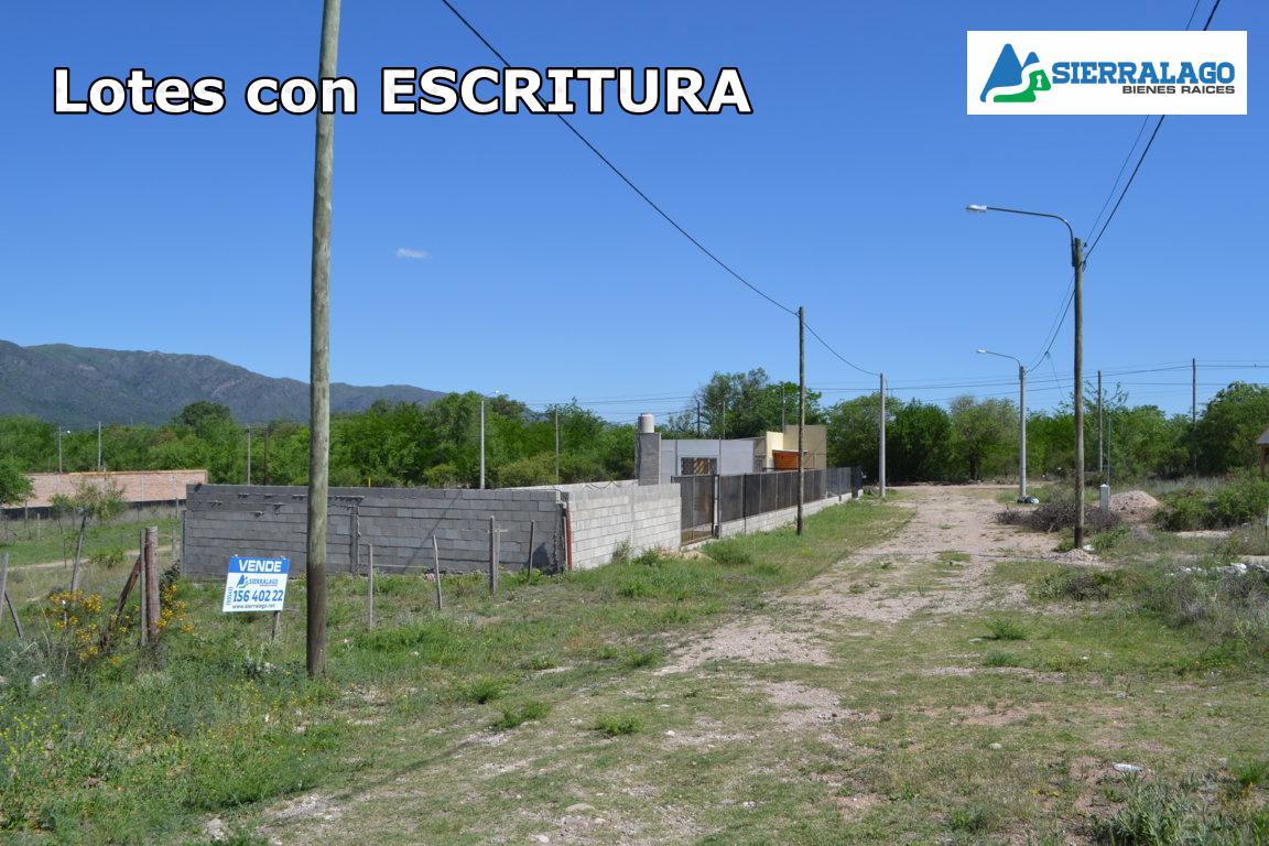 Foto Terreno en Venta en  Cosquin,  Punilla  Lotes en el Alto Mieres