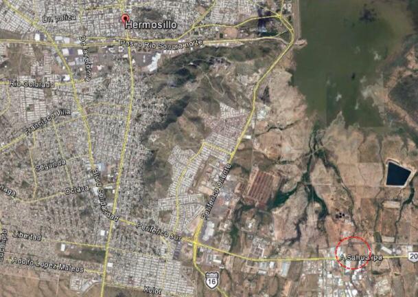 Foto Terreno en Venta en  Parque industrial Parque Industrial Sonora,  Hermosillo  TERRENO EN VENTA EN PARQUE INDUSTRIAL AL SUR DE HERMOSILLO POR LA CARRETERA A SAHUARIPA