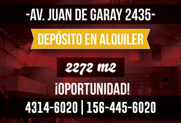 Foto Depósito en Alquiler en  Parque Patricios ,  Capital Federal  Av. Juan de Garay al 2400