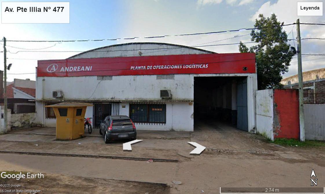 Foto Galpón en Venta en  Concordia ,  Entre Rios  Avenida Pte. Illia N°477