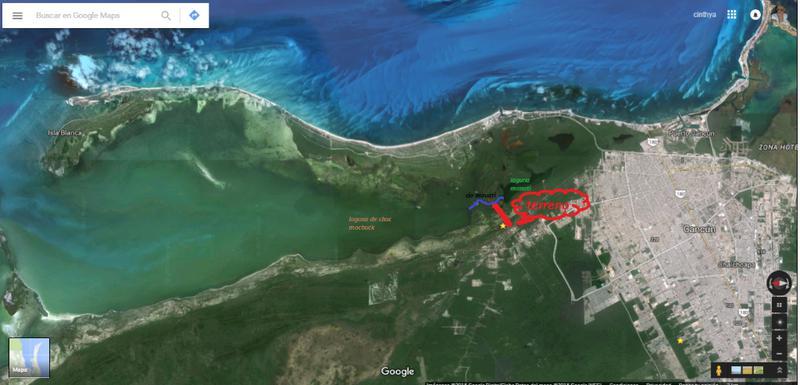 Foto Terreno en Venta en  Mar Caribe,  Isla Mujeres  Terreno en venta cerca de Laguna Manatí