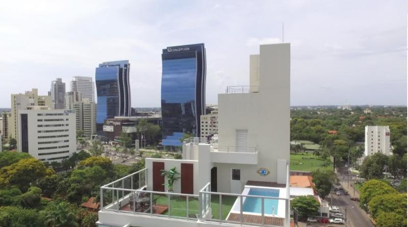 Foto Departamento en Alquiler en  La Recoleta ,  Asunción  Dptos 2 dormitorios, Chateau Tower, Asunción