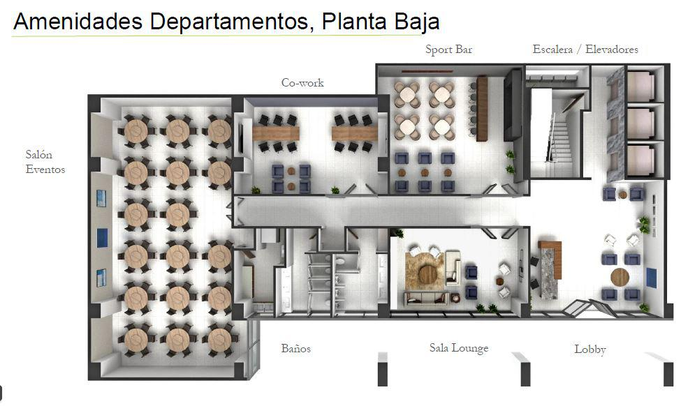 Foto Departamento en Venta en  Guadalupe ,  Nuevo León  Departamentos en Pre -Venta MIguel Aleman