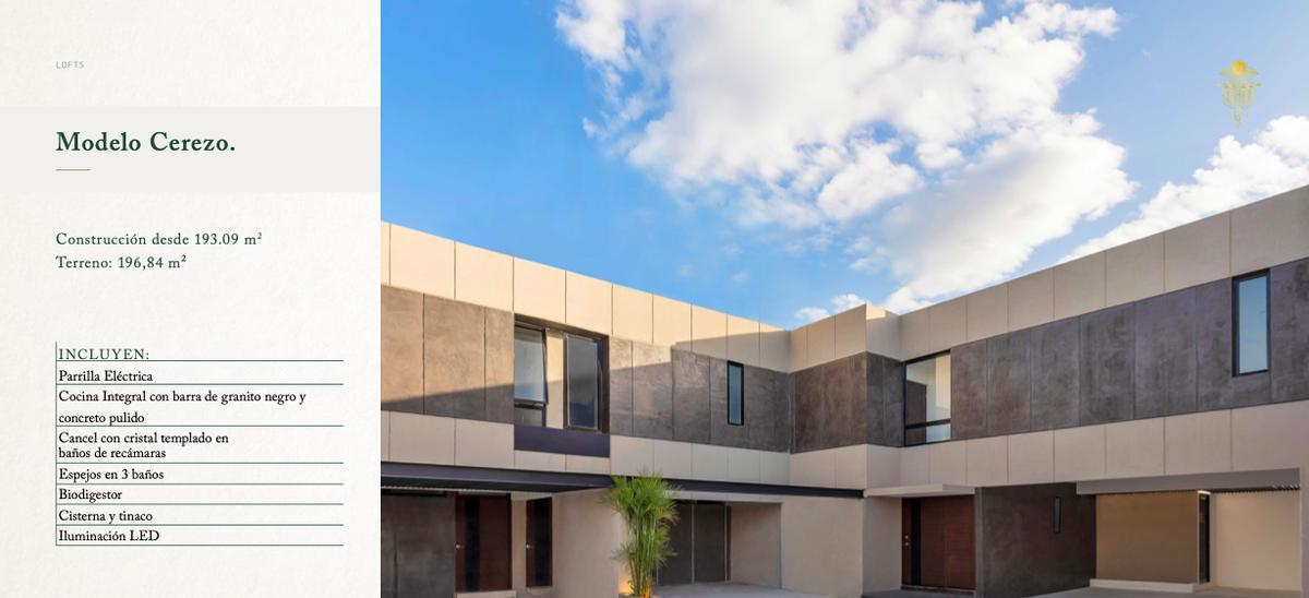 Foto Casa en Venta en  Pueblo Temozon Norte,  Mérida  MADERO 54 | MODELO CEREZO | TEMOZÓN NORTE