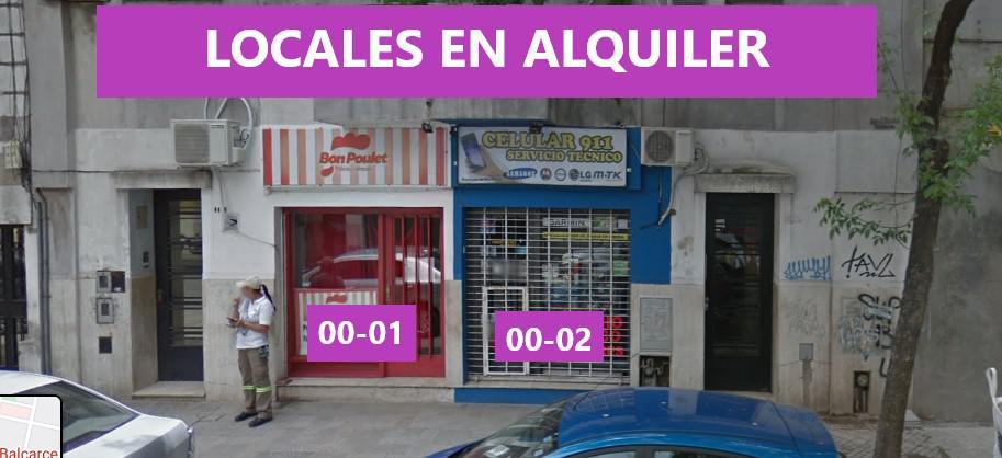 Foto Local en Alquiler en  Centro,  Rosario  Locales en alquiler - Balcarce 1164 00-01 y 00-02