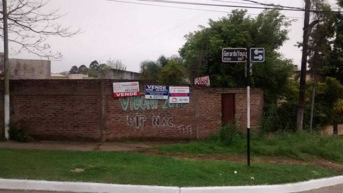 Foto Terreno en Venta |  en  Concordia ,  Entre Rios  Lamadrid y Gerardo Yoya