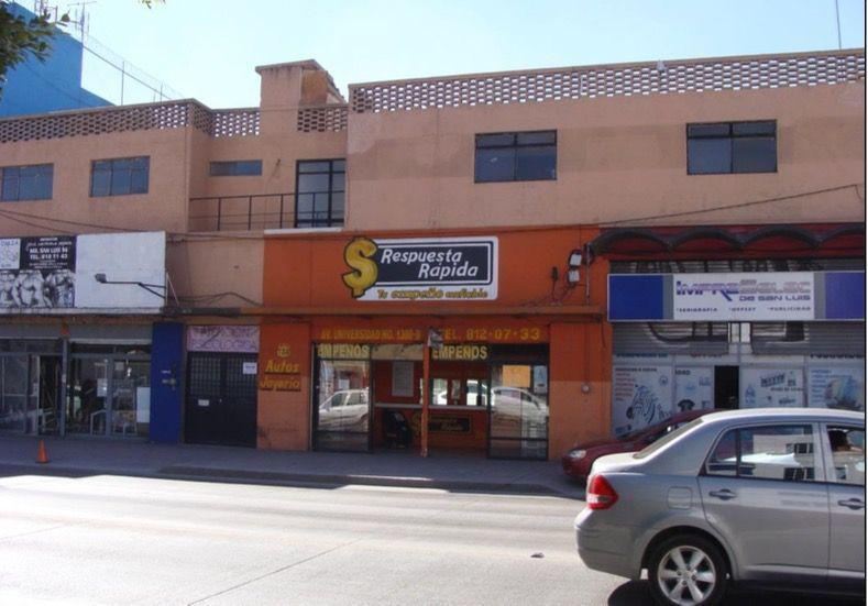 Foto Edificio Comercial en Venta en  Central,  San Luis Potosí  EDIFICIO COMERCIAL EN VENTA EN AV. UNIVERSIDAD, S.L.P.