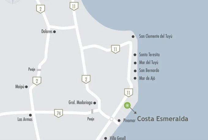 Foto Terreno en Venta en  Barrio Costa Esmeralda,  Pinamar  Costa Esmeralda - Ecuestre