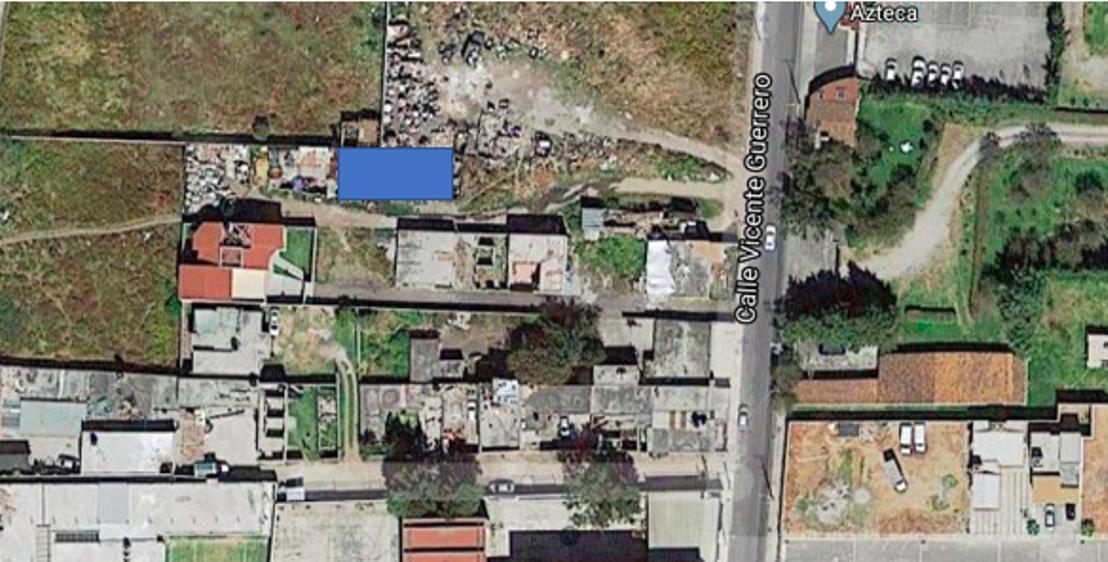 Foto Terreno en Venta en  Coaxustenco,  Metepec  Terreno en venta Cerrada de la calle V. Gerrero, Metepec, Edo. de México.