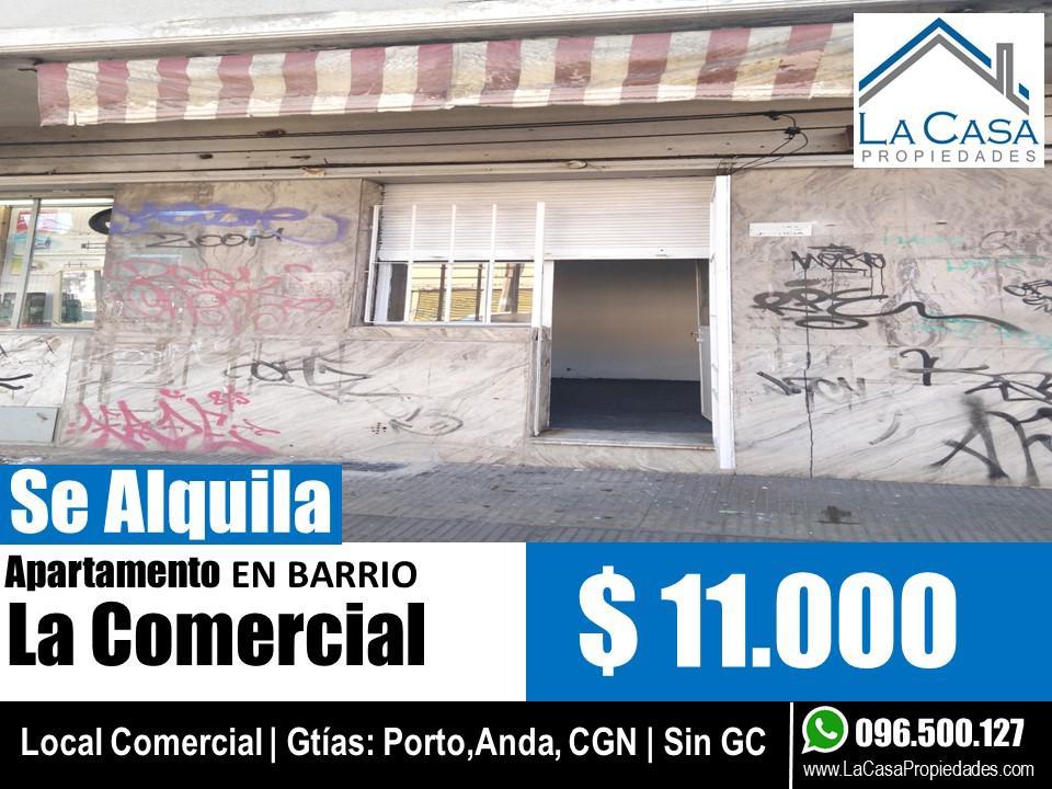 Foto Local en Alquiler en  La Comercial ,  Montevideo  Justicia al 1900