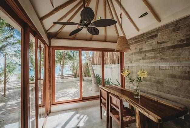 Foto Casa en condominio en Renta temporal en  Tulum Centro,  Tulum      Casa en renta en Tulum en la playa