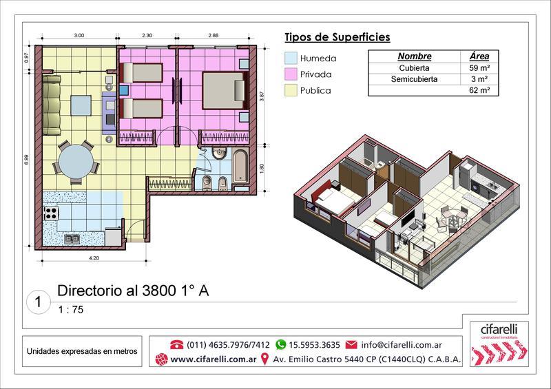 Foto Departamento en Venta |  en  P.Avellaneda ,  Capital Federal  Directorio al 3800 1A