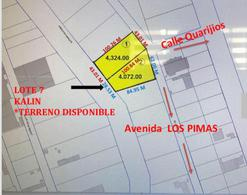 Foto Terreno en Venta en  Parque industrial Parque Industrial Sonora,  Hermosillo  TERRENO EN VENTA EN PARQUE INDUSTRIAL AL SUR DE HERMOSILLO SONORA