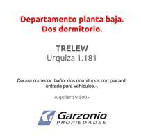 Foto thumbnail Departamento en Alquiler en  Trelew ,  Chubut  Urquiza al 1100