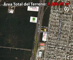 Foto Terreno en Venta en  Fraccionamiento Juan Pablo,  Mérida  Terreno De 1588.95 m2 En Periférico Poniente