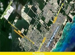 Foto Terreno en Venta en  Playa del Carmen,  Solidaridad  En venta y con precio de oportunidad Terreno en Fraccionamiento Paseo del Parque, Playa del Carmen  P3090