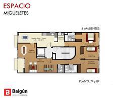 Foto thumbnail Departamento en Venta en  Las Cañitas,  Palermo  Migueletes y Jorge Newbery