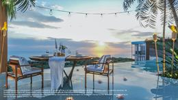 Foto Departamento en Venta en  Tulum ,  Quintana Roo  DEPTO.  -  2Rec.  - VISTA PARCIAL AL MAR - con LOCK OFF Y ALBERCA - TULUM