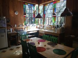 Foto Casa en Venta en  Ingeniero Maschwitz,  Escobar  VENTA | HERMOSA CASA de MADERA, PARQUE y PILETA | Las Chacras