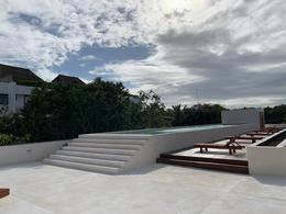 Foto Departamento en Venta en  La Veleta,  Tulum  Nuevo Depa de 1 rec con piscina y patio privado en Tulum