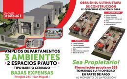 Foto Departamento en Venta en  San Miguel ,  G.B.A. Zona Norte  Pringles al 200