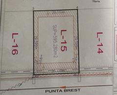 Foto Terreno en Venta en  Punta Tiburón,  Alvarado  PUNTA TIBURON MARINA Y GOLF, Terreno en  VENTA de 595.28 m2 en Marina IV