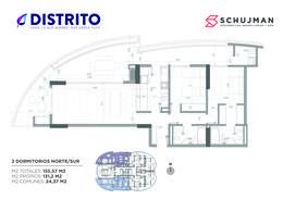 Foto Departamento en Venta en  San Miguel De Tucumán,  Capital  VENTA 2 dormitorios Torre del Jacaranda 2