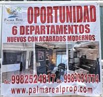 Foto Departamento en Venta en  Supermanzana 29,  Cancún  GRAN OPORTUNIDAD EDIFICIO 6 APARTAMENTOS NUEVOS !!