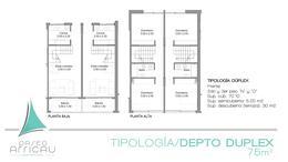 """Foto Departamento en Venta en  Don Torcuato,  Tigre  Av. Angel T. de Alvear 200 // Segundo - Tercer Piso """"D1"""", 3 Ambientes en Duplex"""
