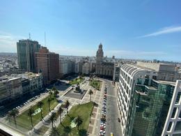 Foto Departamento en Alquiler en  Ciudad Vieja ,  Montevideo  Plaza Independencia, oficinas para entrar , piso medio