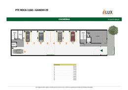 Departamento un dormitorio con patio venta edificio construcción Presidente Roca 1600 - Centro