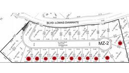 Foto Terreno en Venta en  Lomas Diamante,  Alvarado          LOMAS DIAMANTE, Terreno en VENTA desde 191.91 m2 en $4,700 el m2 (PC)