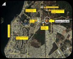 Foto Terreno en Venta en  Fraccionamiento Marina Mazatlán,  Mazatlán  EXCELENTE TERRENO. EN ZONA MARINA MAZATLÁN. A UNOS METROS DE PLAZA GALERÍAS. SOBRE AVENIDA PACIFICO.  7,508 M2. $6,000.00 M2