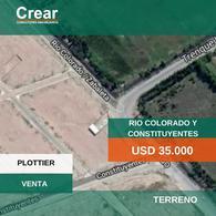 Foto Terreno en Venta en  Plottier,  Confluencia  RIO COLORADO Y CONSTITUYENTES