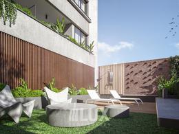 Departamento en construcción Monoambiente frente balcón San Juan 2600 - Centro