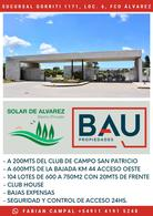 Foto Terreno en Venta en  Solar de Álvarez,  Francisco Alvarez  BARRIO PRIVADO SOLAR DE ÁLVAREZ