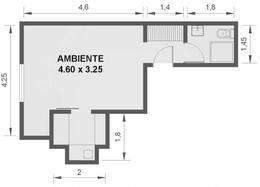 Foto Departamento en Alquiler temporario en  Barrio Norte ,  Capital Federal  AGUERO 2200
