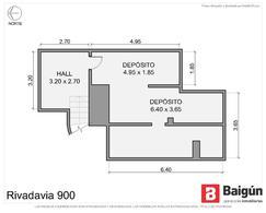 Foto thumbnail Oficina en Venta en  Monserrat,  Centro  AV RIVADAVIA Y 9 DE JULIO