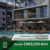 Foto Departamento en Venta en  Mazatlán ,  Sinaloa  Condominios Cardones Residencial  de 2 y 3 recamaras  a la venta en Av. Paseo del Pacifico Mazatlán Sinaloa México