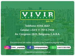 Foto Departamento en Venta en  Belgrano ,  Capital Federal  Zapiola  2674 8B