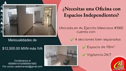 Foto Oficina en Renta en  Mazatlán ,  Sinaloa  RENTA DE OFICINA EN MAZATLAN SINALOA DE 115 M2
