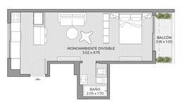 Foto Oficina en Venta en  Palermo ,  Capital Federal                                                  Av CORDOBA 6072 - Unidad 902