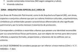 Foto Terreno en Venta en  Caballito ,  Capital Federal  ESCRIBANO 66/Construcción FOT 2,6