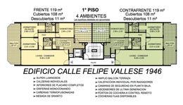 Foto Departamento en Venta en  Flores ,  Capital Federal  Felipe Vallese 1946