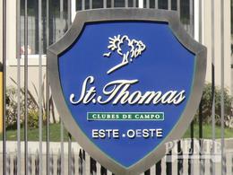 Foto Terreno en Venta en  Saint Thomas,  Countries/B.Cerrado (E. Echeverría)  Lote Doble en Saint Thomas Este