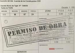 Foto Terreno en Venta en  General Pacheco,  Tigre  Av. de los Constituyentes al 2300