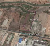 Foto Terreno en Venta en  Norte de Durán,  Durán  Terreno 14.655 m², Vendo Vía Durán – Tambo, Km 7 Frente Mercado Mayorista