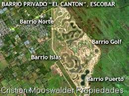 Foto Terreno en Venta en  El Canton - Puerto,  Countries/B.Cerrado (Escobar)  Barrio Cerrado El canton