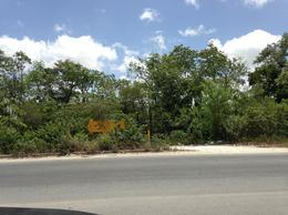 Foto Terreno en Venta en  Región 103,  Cancún  Magnifica propiedad!!! Terreno en venta en Cancún a orilla de Arco Vial C1324